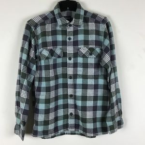 {Patagonia} Mens L/S Fjord Flannel Shirt Size S